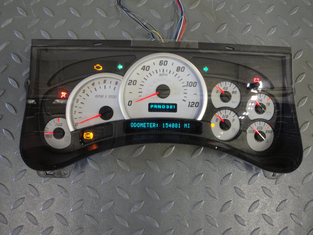 2004 chevy impala instrument cluster repair