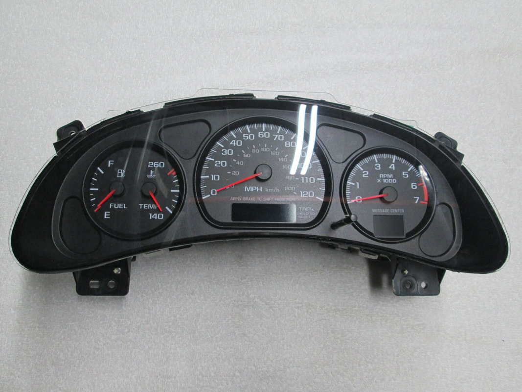 2000-05 Chevrolet Impala Speedometer Repair
